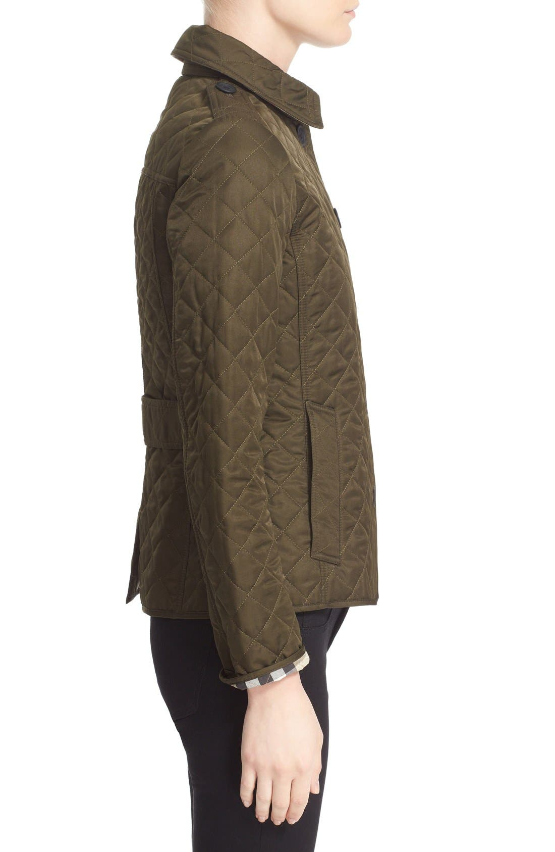 Alternate Image 4  - Burberry Ashurst Quilted Jacket