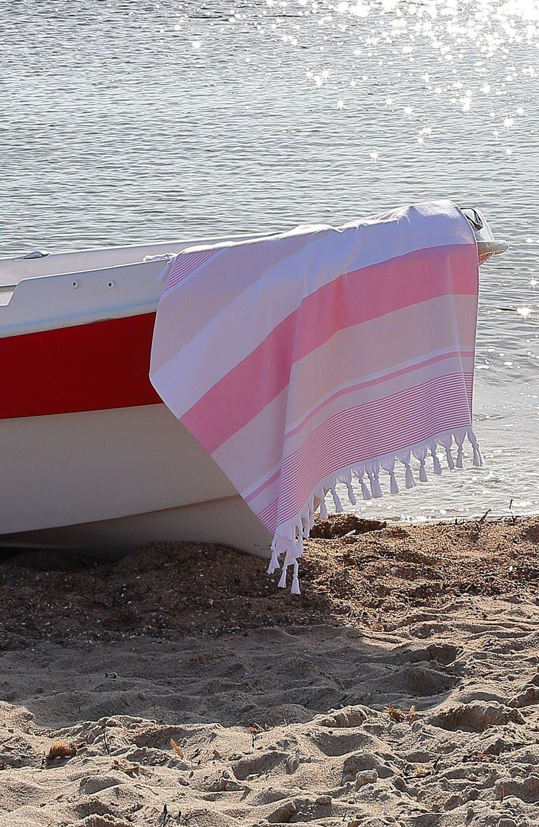 Alternate Image 6  - Linum Home Textiles 'Summer Loving' Turkish Pestemal Towel