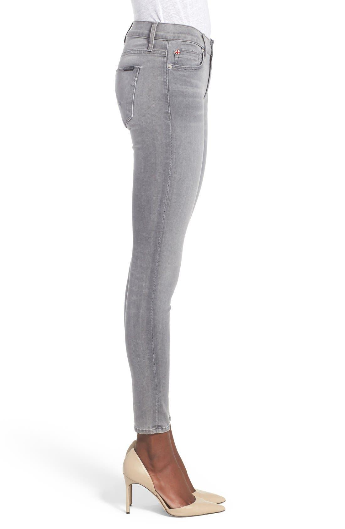 'Nico' Super Skinny Jeans,                             Alternate thumbnail 3, color,                             Spark Plug