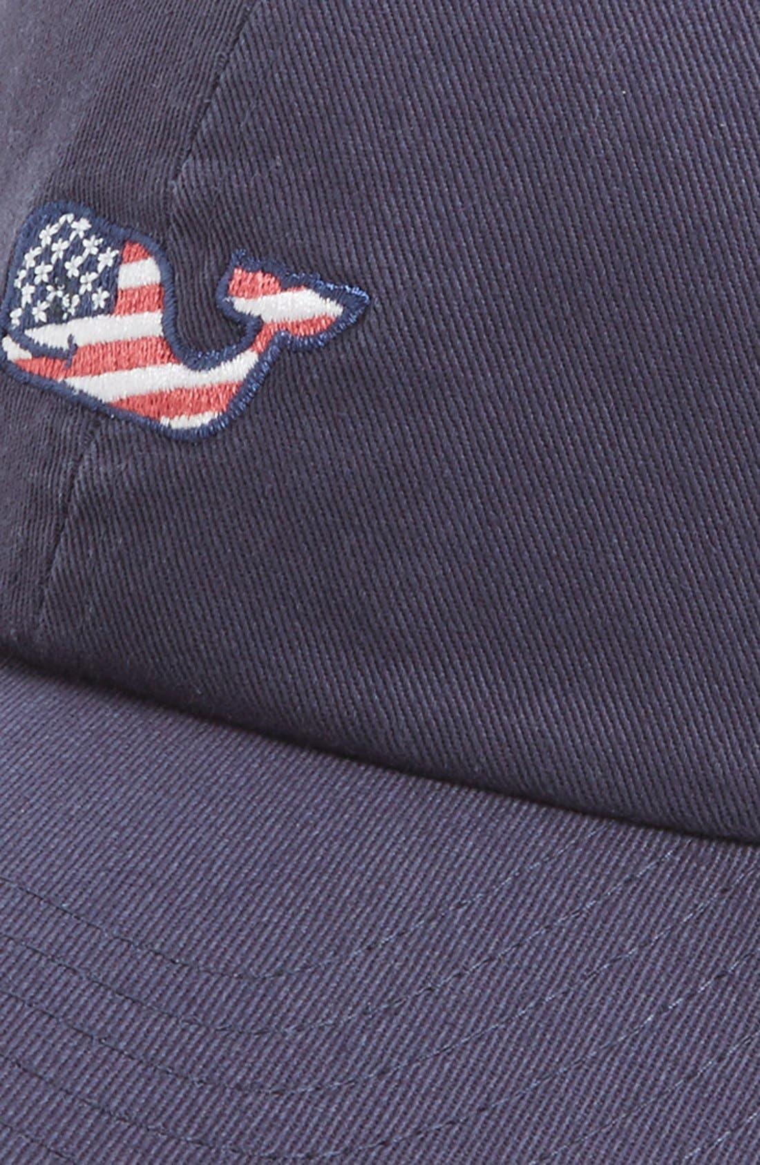 Alternate Image 2  - Vineyard Vines 'Whale Flag' Baseball Cap