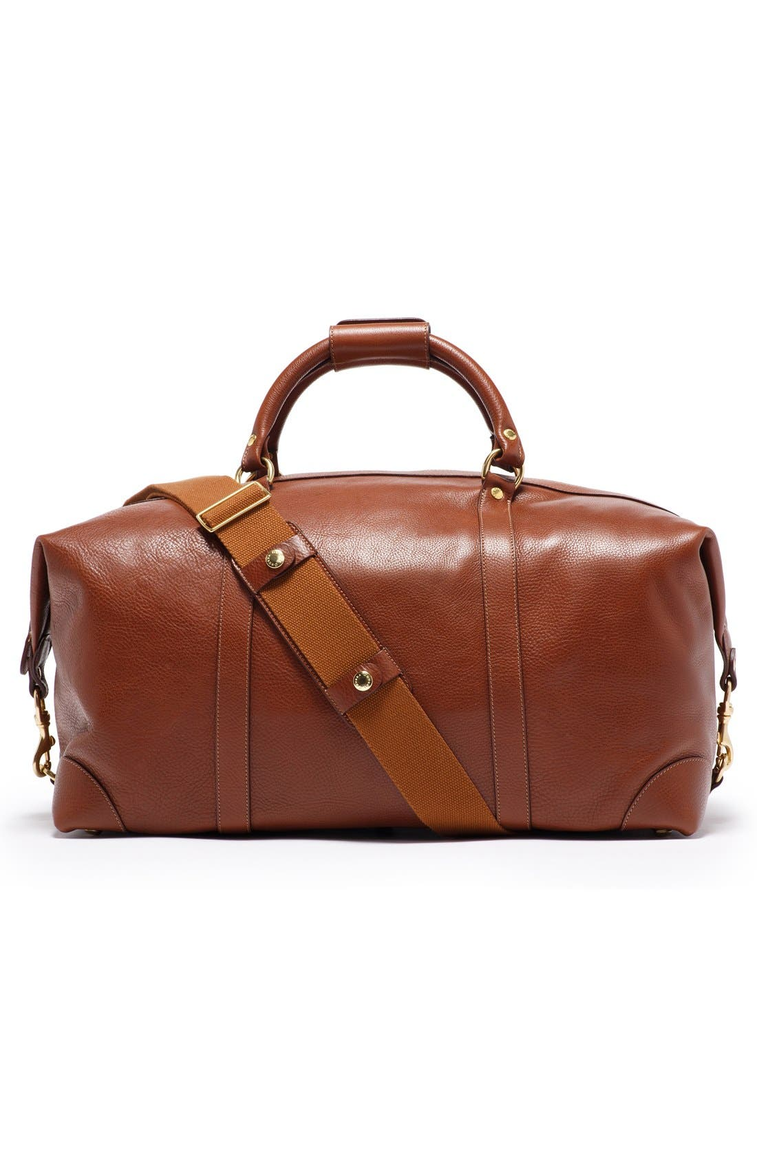 Alternate Image 2  - Ghurka Cavalier II Leather Duffel Bag