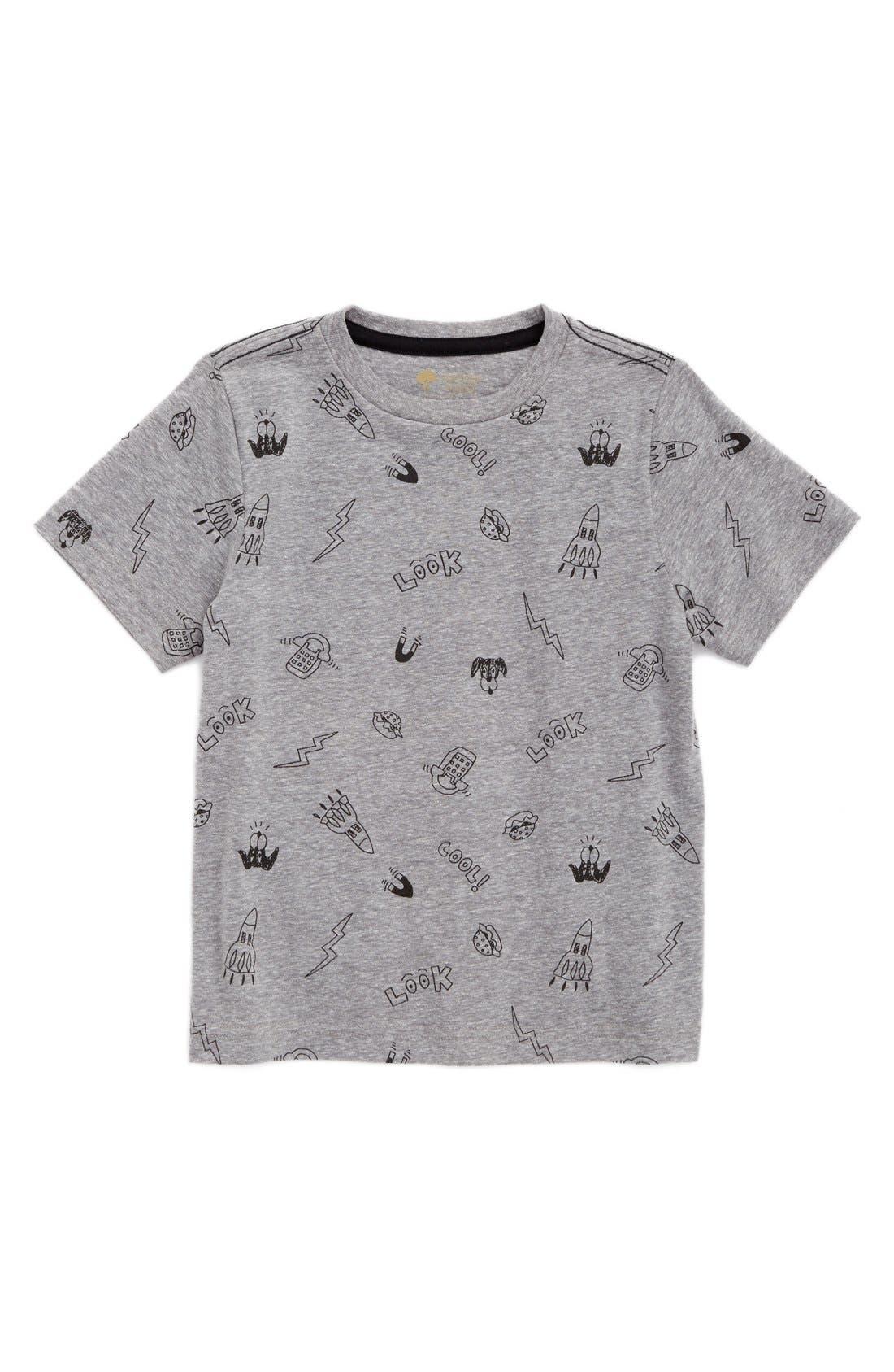 Main Image - Tucker + Tate Graphic T-Shirt (Toddler Boys & Little Boys)