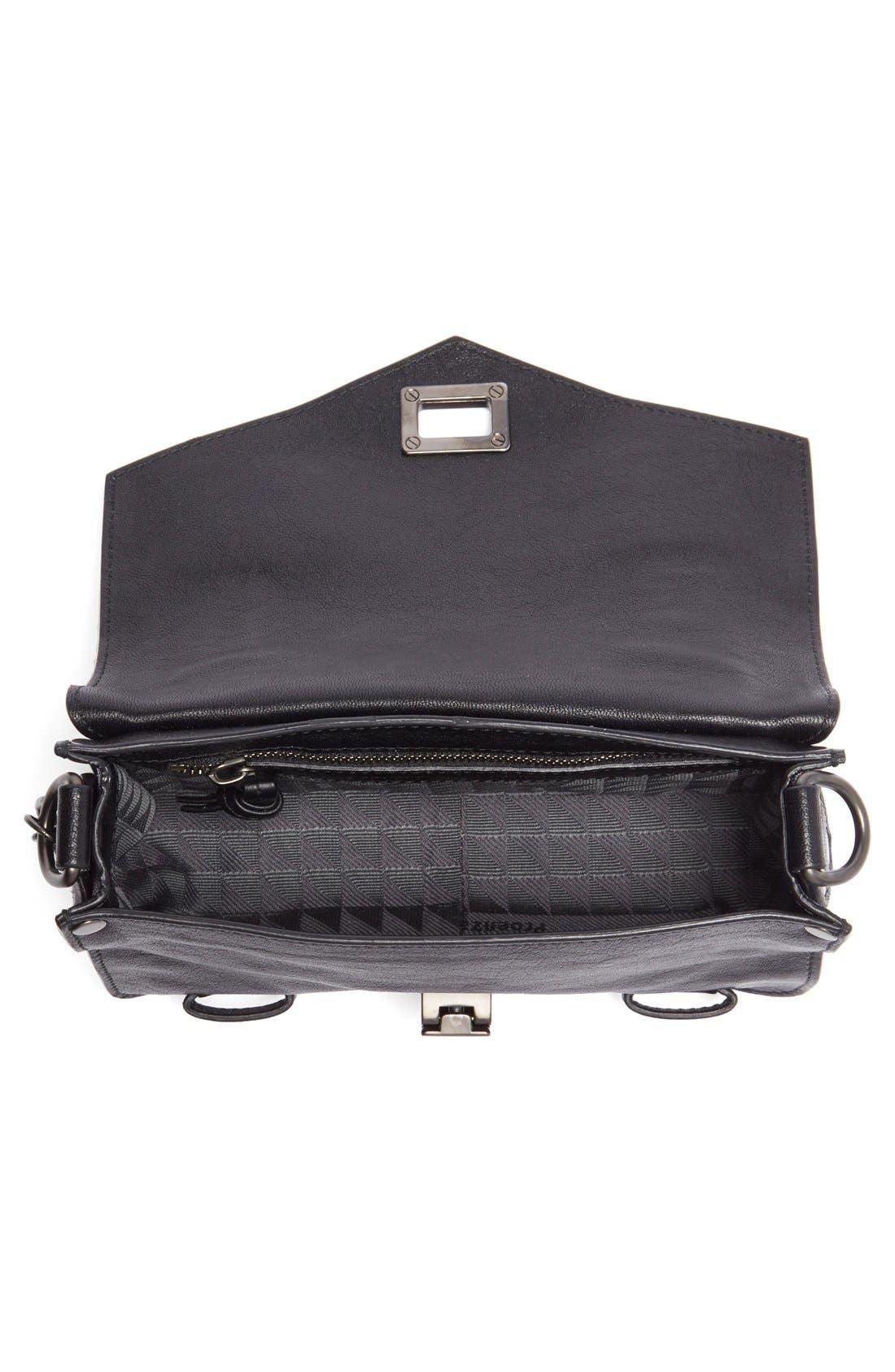 Alternate Image 4  - Proenza Schouler 'Mini PS1' Lambskin Leather Crossbody Bag