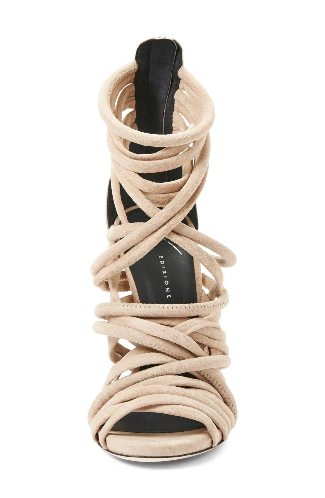 Alternate Image 3  - Giuseppe Zanotti 'A-Line' Strappy Cage Sandal (Women)