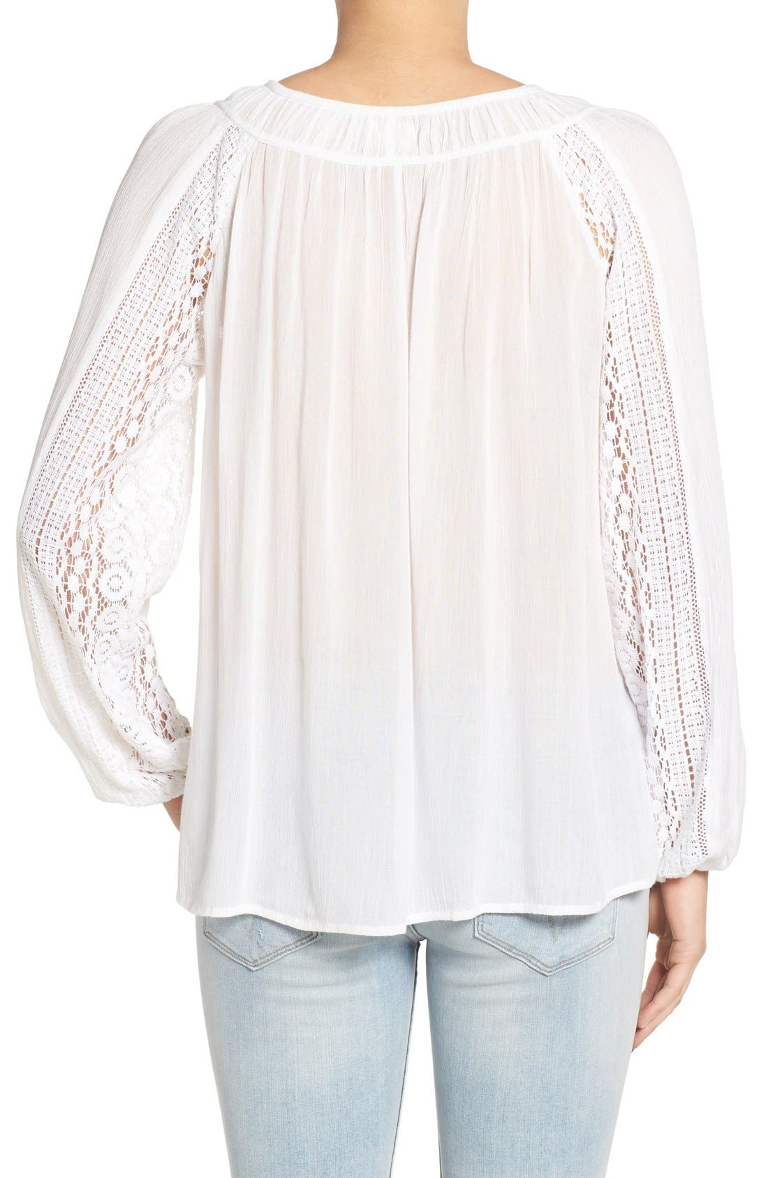 Alternate Image 2  - O'Neill 'Holland' Embroidered Woven Top