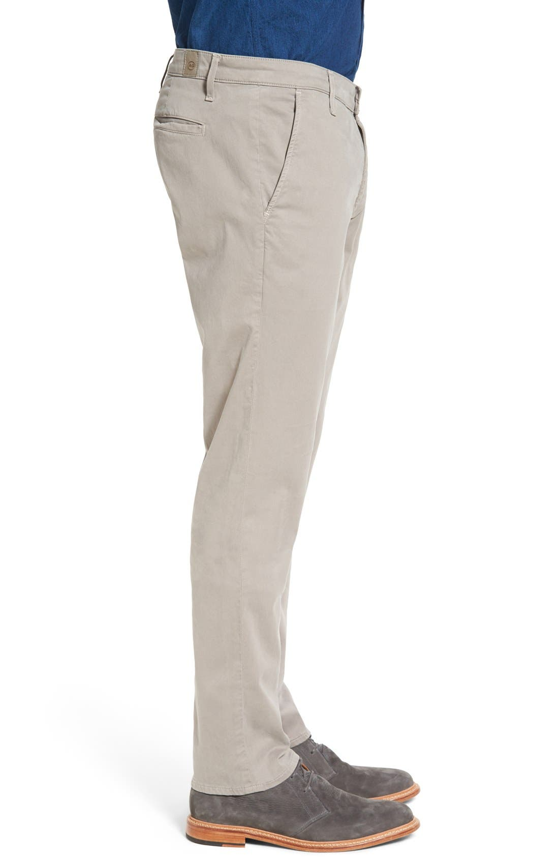 Alternate Image 3  - AG 'The Lux' Tailored Straight Leg Chinos