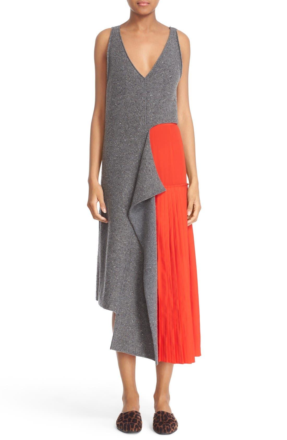 Alternate Image 7  - Stella McCartney Asymmetric High/Low Flannel Top