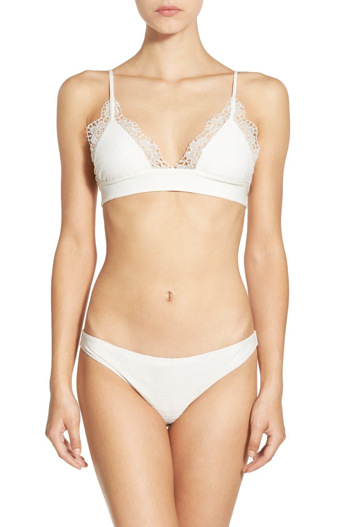 Alternate Image 5  - For Love & Lemons 'Maldives' Triangle Bikini Top