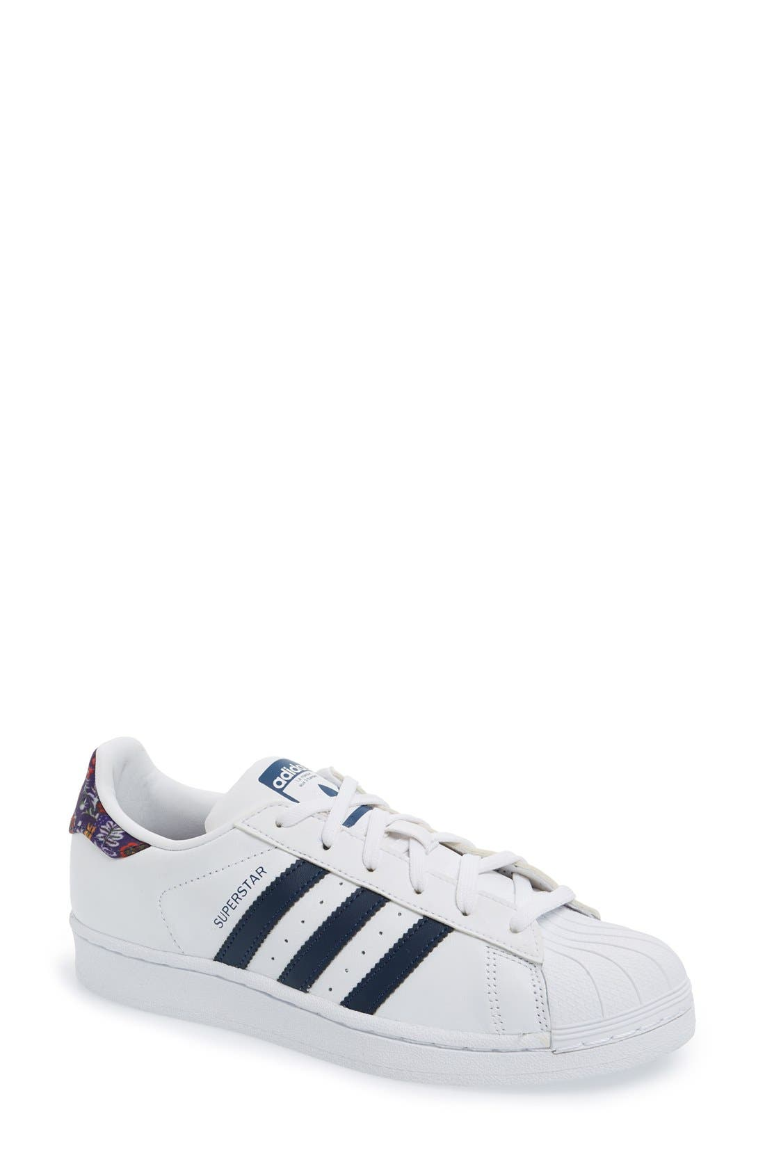 Alternate Image 1 Selected - adidas x The FARM Company Superstar Sneaker