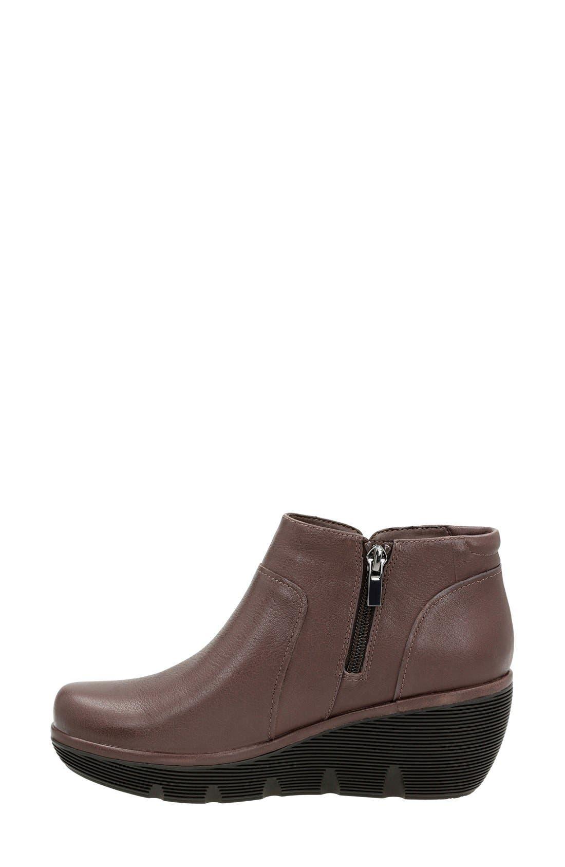Alternate Image 2  - Clarks® 'Clarene Sun' Wedge Boot (Women)