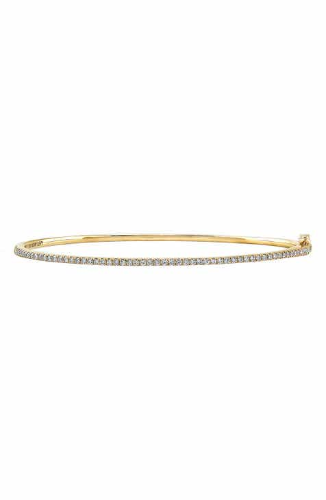 dd1d385a3 Bony Levy Skinny Stackable Diamond Bangle (Nordstrom Exclusive)