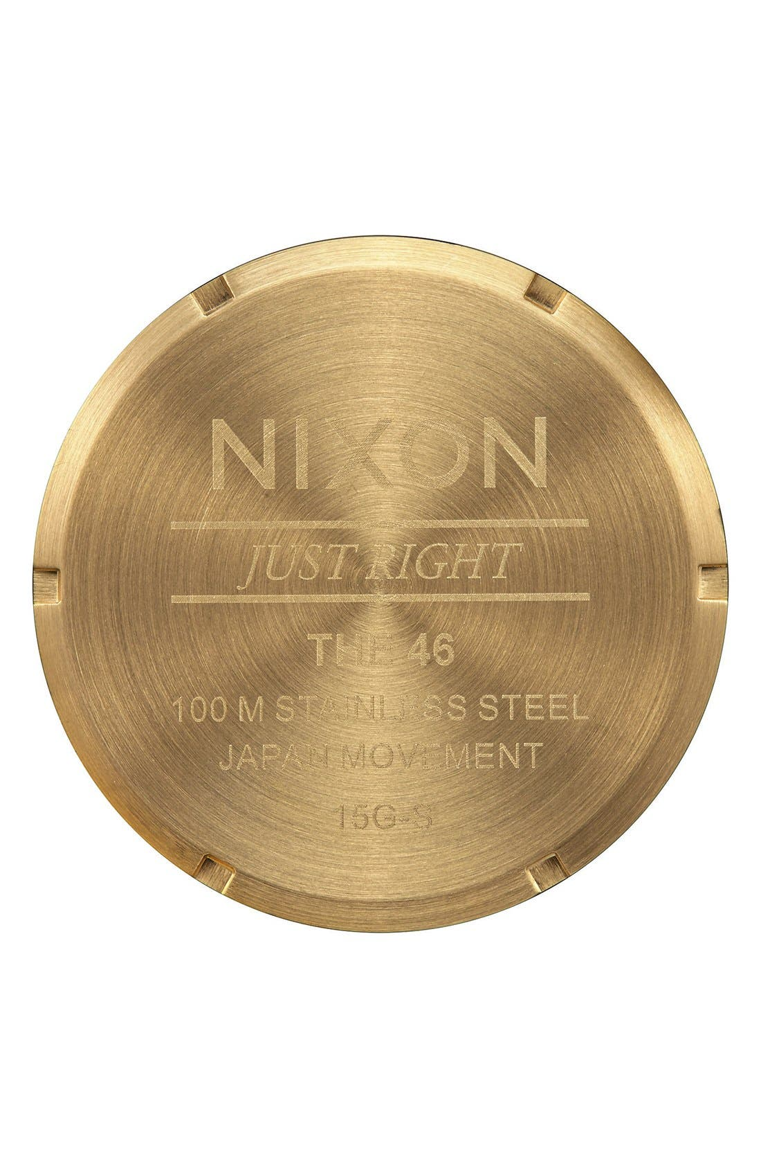 Alternate Image 4  - Nixon Bracelet Watch, 46mm
