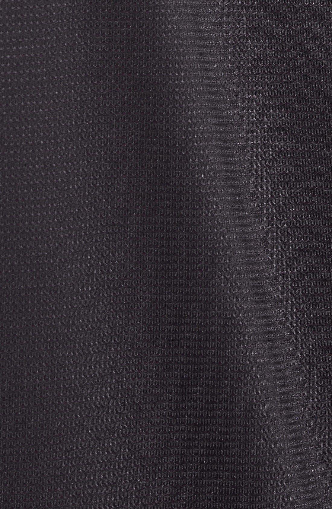 'Raid' HeatGear<sup>®</sup> Training T-Shirt,                             Alternate thumbnail 8, color,                             Black/ Black/ Graphite