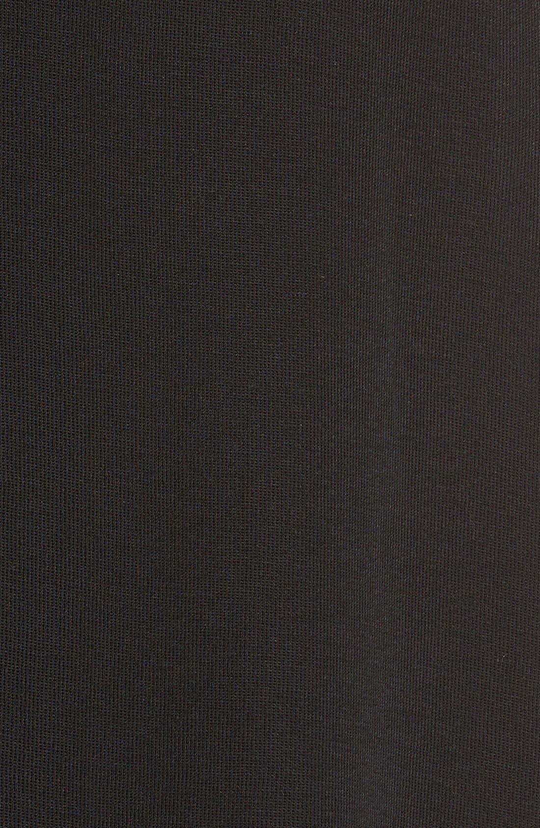 Alternate Image 5  - Ming Wang Asymmetrical A-Line Knit Skirt