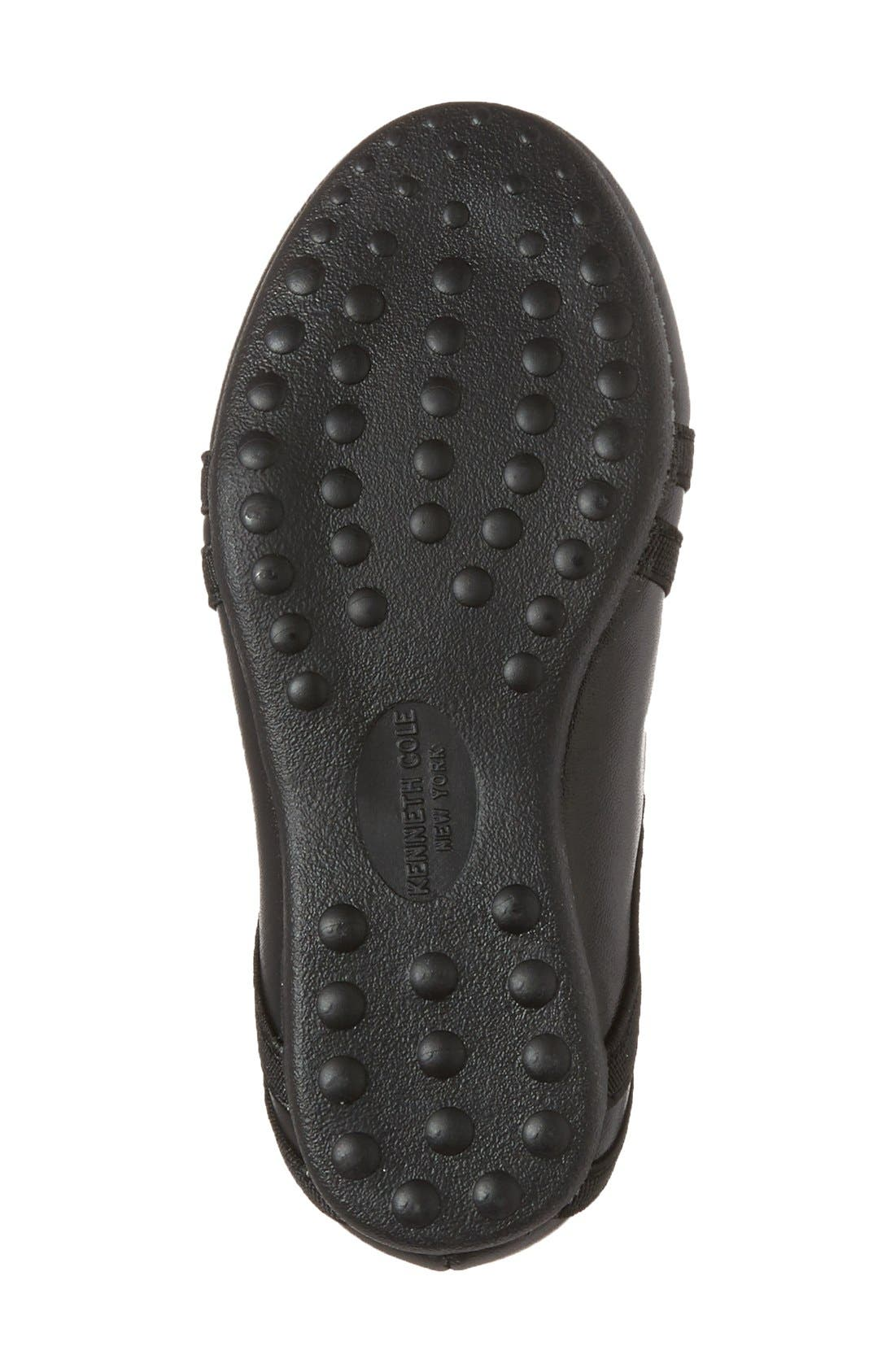 Alternate Image 4  - Kenneth Cole New York 'Rose Bay' Round Toe Flat (Walker, Toddler, Little Kid & Big Kid)