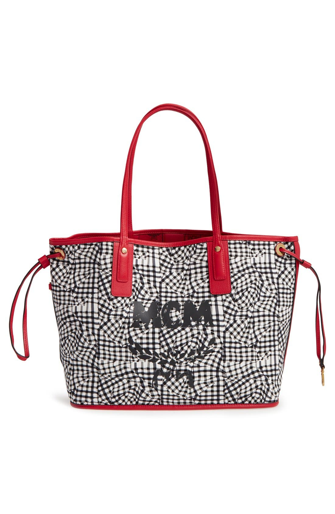 Alternate Image 5  - MCM Medium Liz Reversible Shopper