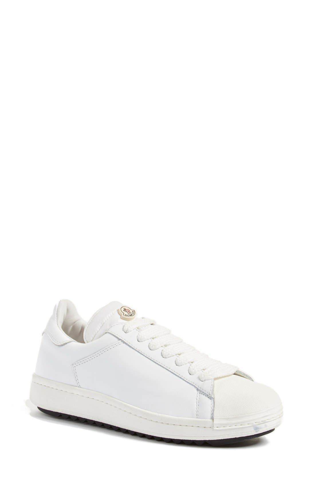 'Angeline Scarpa' Sneaker,                         Main,                         color, White Leather