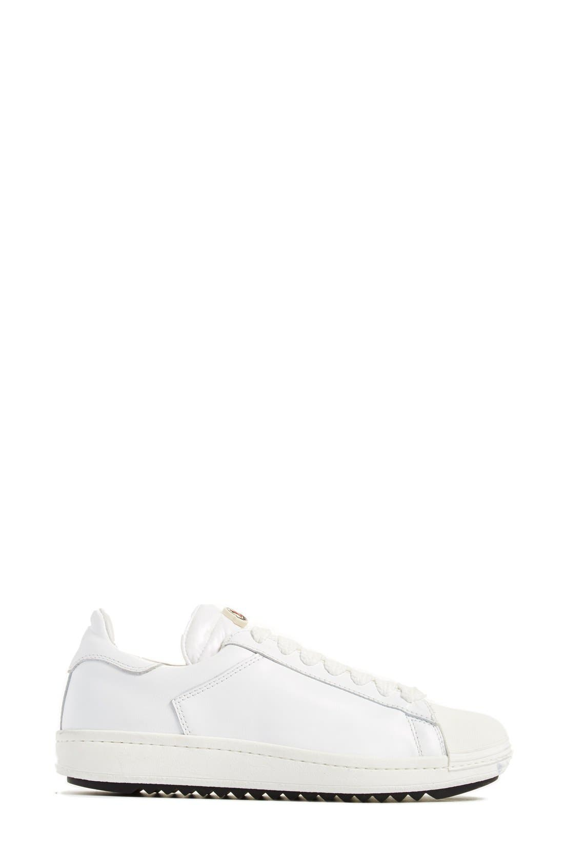 'Angeline Scarpa' Sneaker,                             Alternate thumbnail 5, color,                             White Leather
