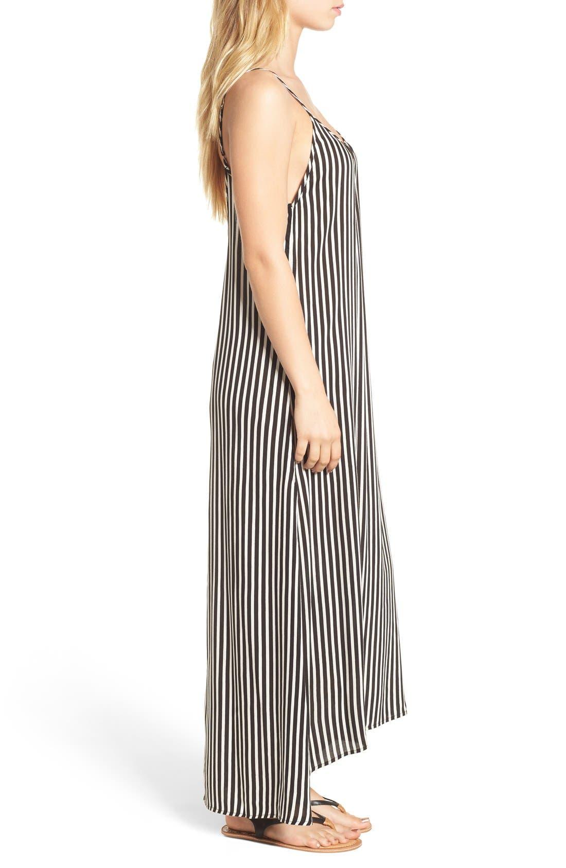 Alternate Image 3  - Billabong 'Easy Does It' Stripe Maxi Dress