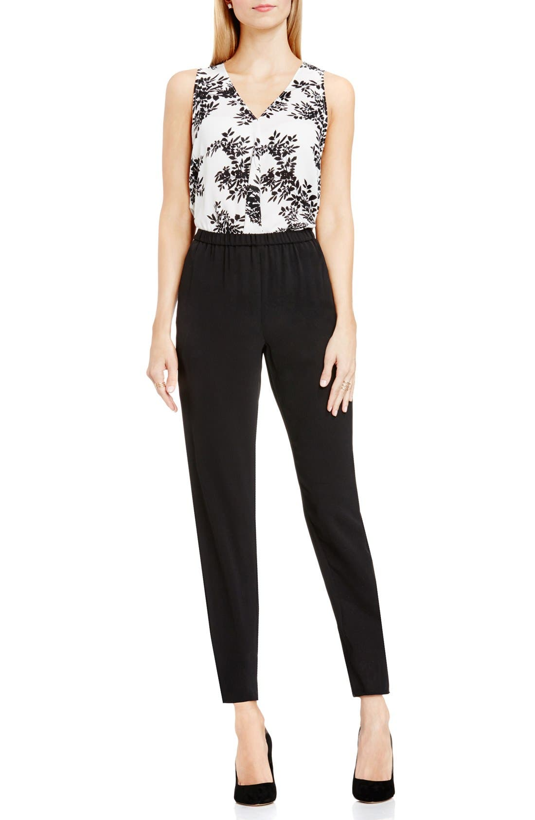 Alternate Image 2  - Vince Camuto Slim Leg Ankle Pants (Regular & Petite)