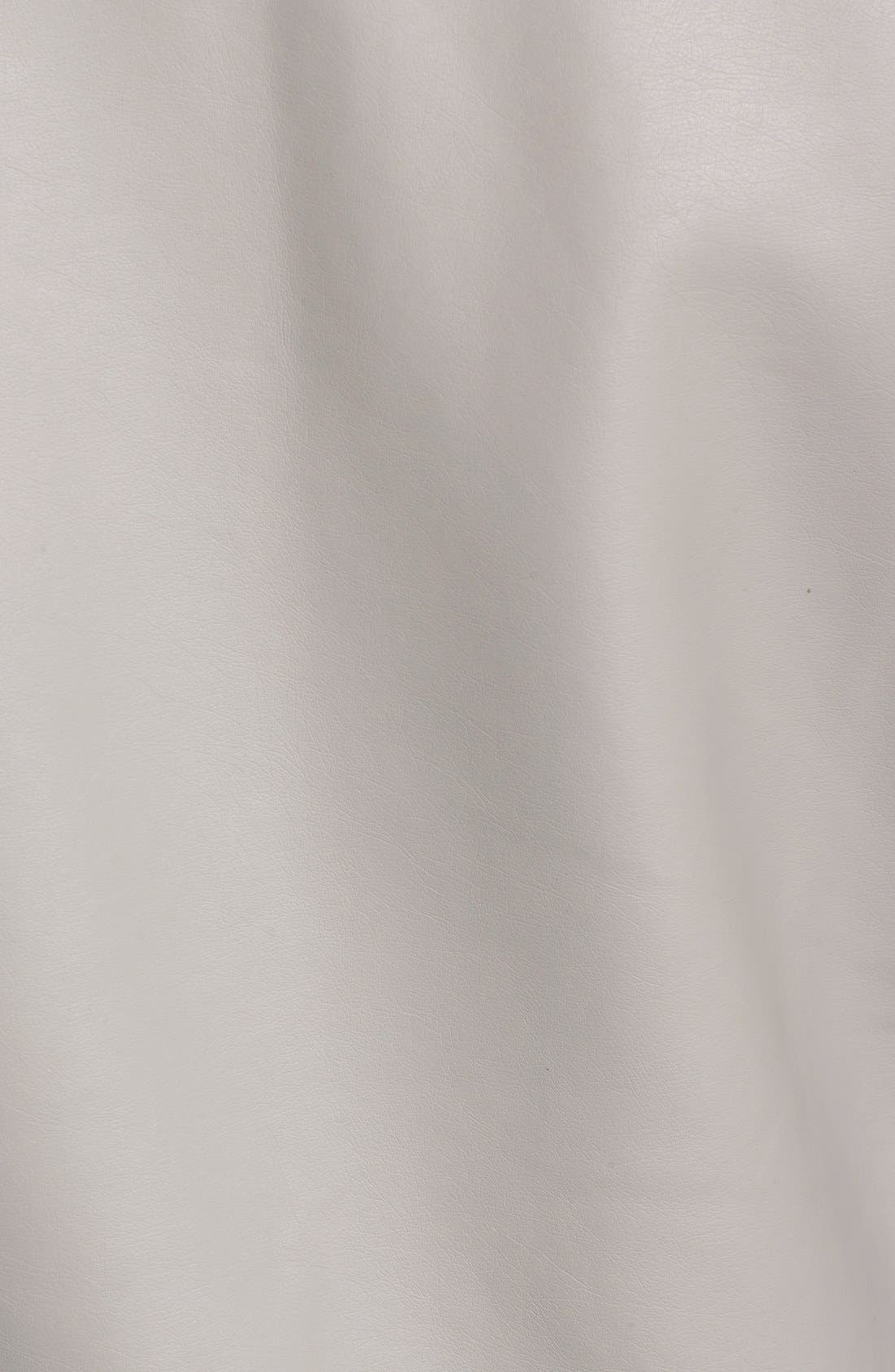 Alternate Image 5  - cupcakes and cashmere 'Kadence' Faux Leather Asymmetrical Moto Jacket