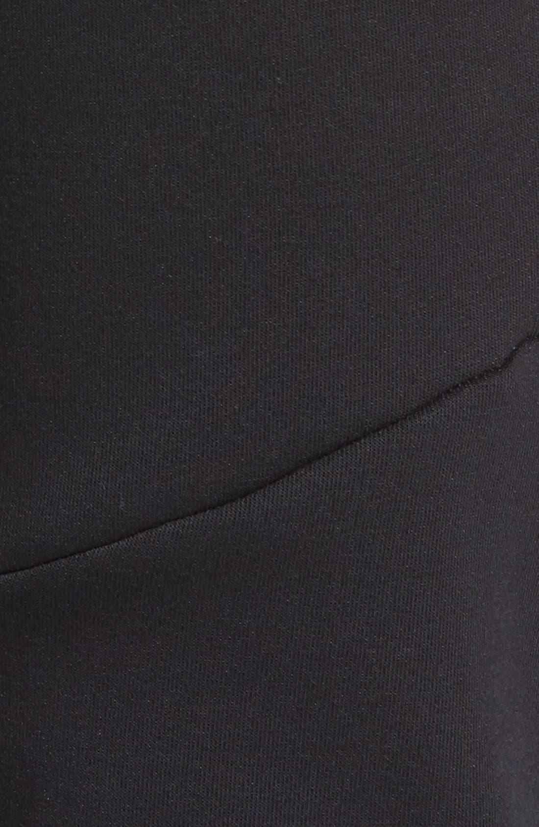 Tech Fleece Jogger Pants,                             Alternate thumbnail 6, color,                             Black/ Black