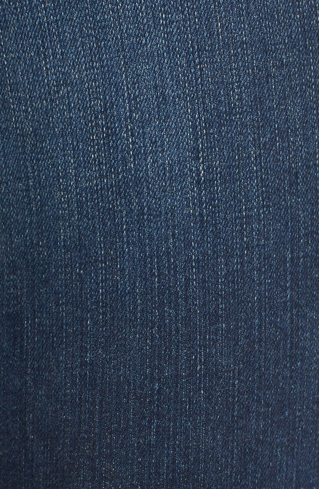 'Le Crop Mini Boot' Staggered Hem Crop Jeans,                             Alternate thumbnail 6, color,                             Topsail