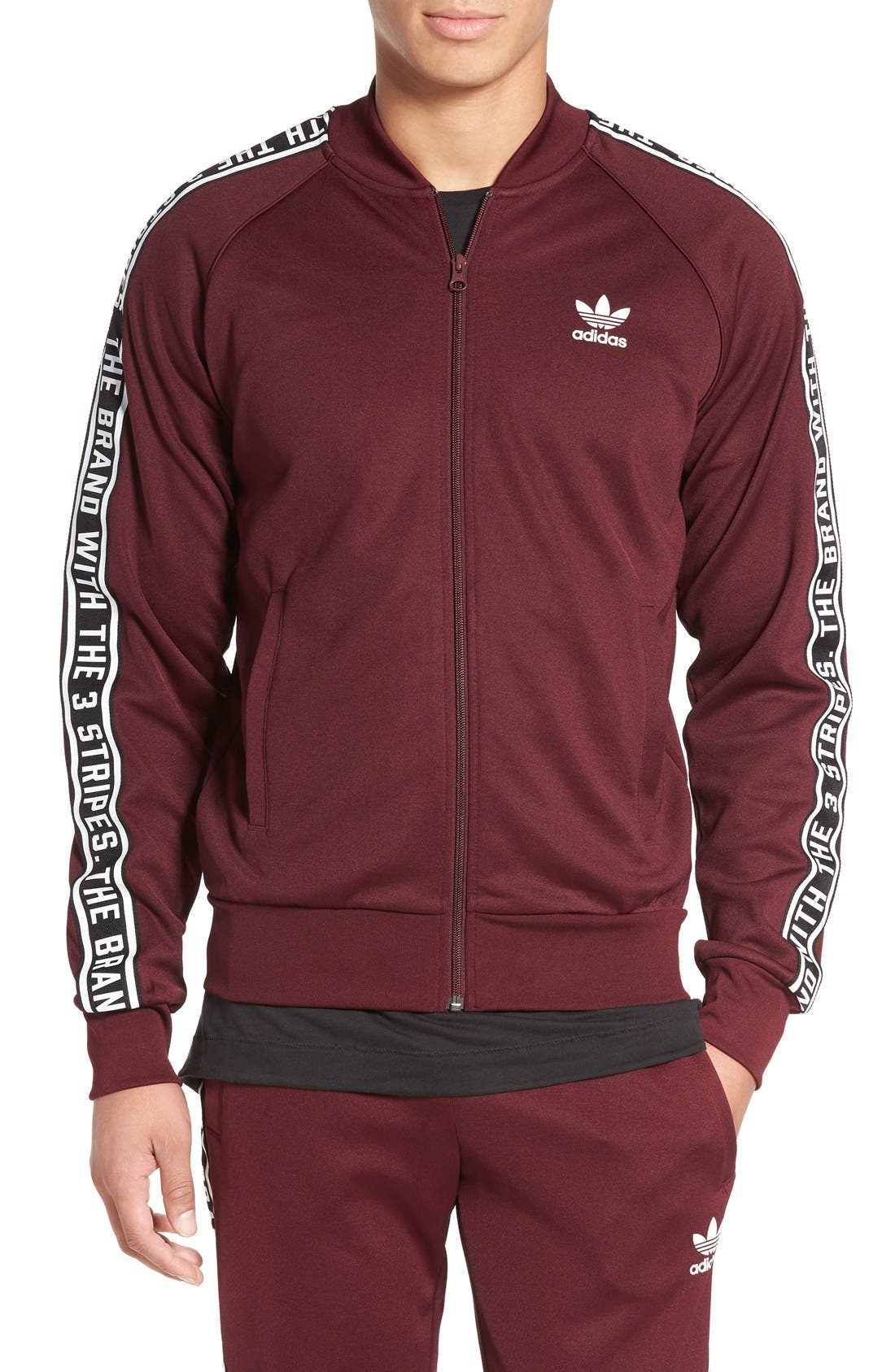 adidas superstar essentials track jacket