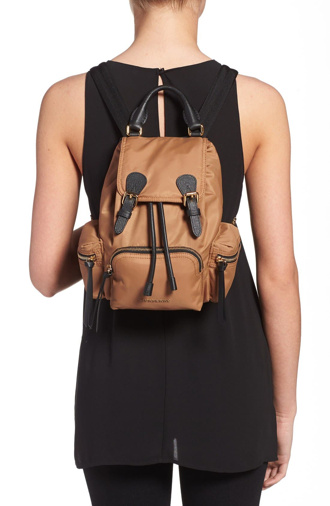 Alternate Image 2  - Burberry 'Small Runway Rucksack' Nylon Backpack