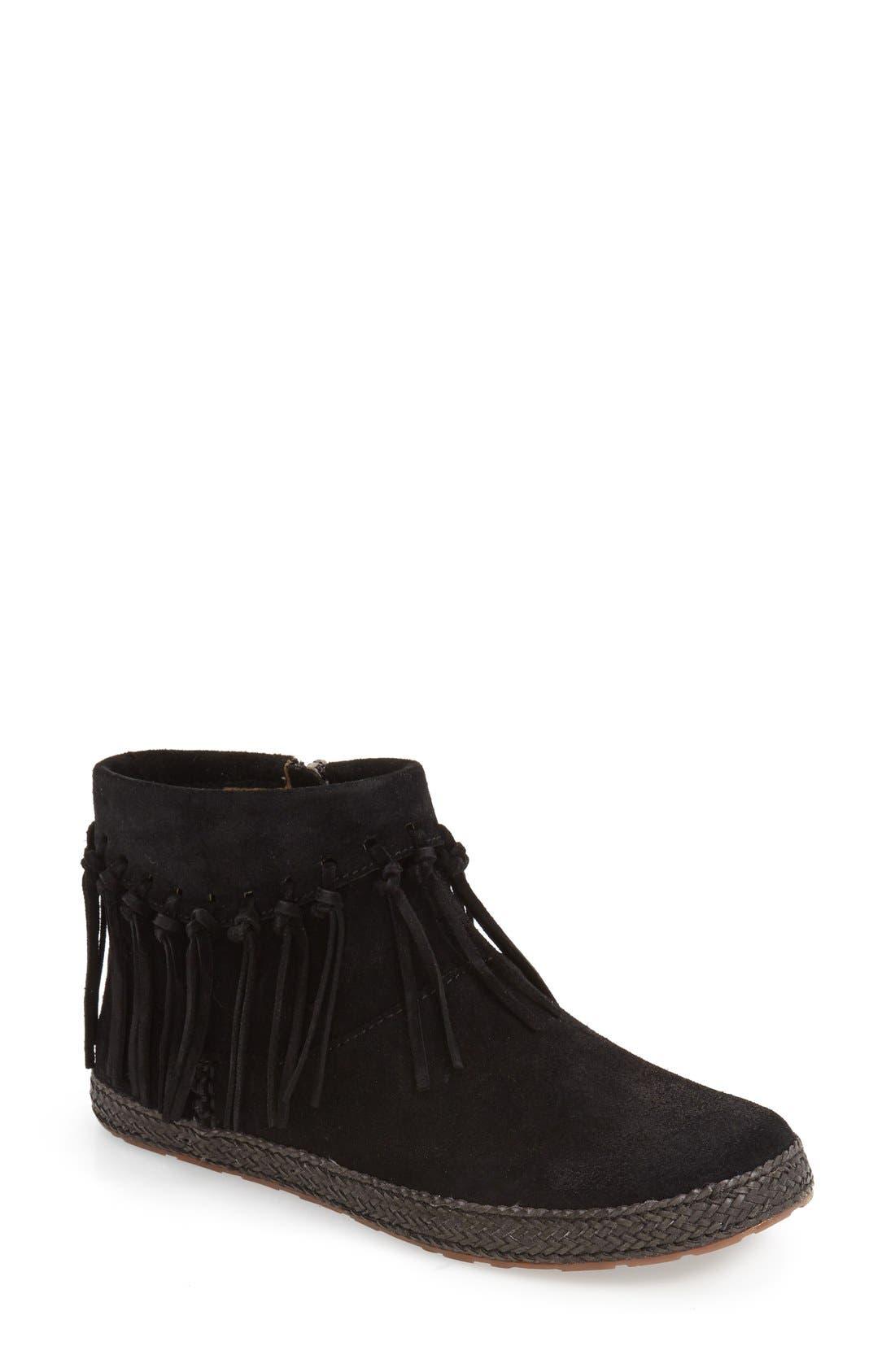 Alternate Image 1 Selected - UGG® 'Shenendoah' Fringe Ankle Boot (Women)