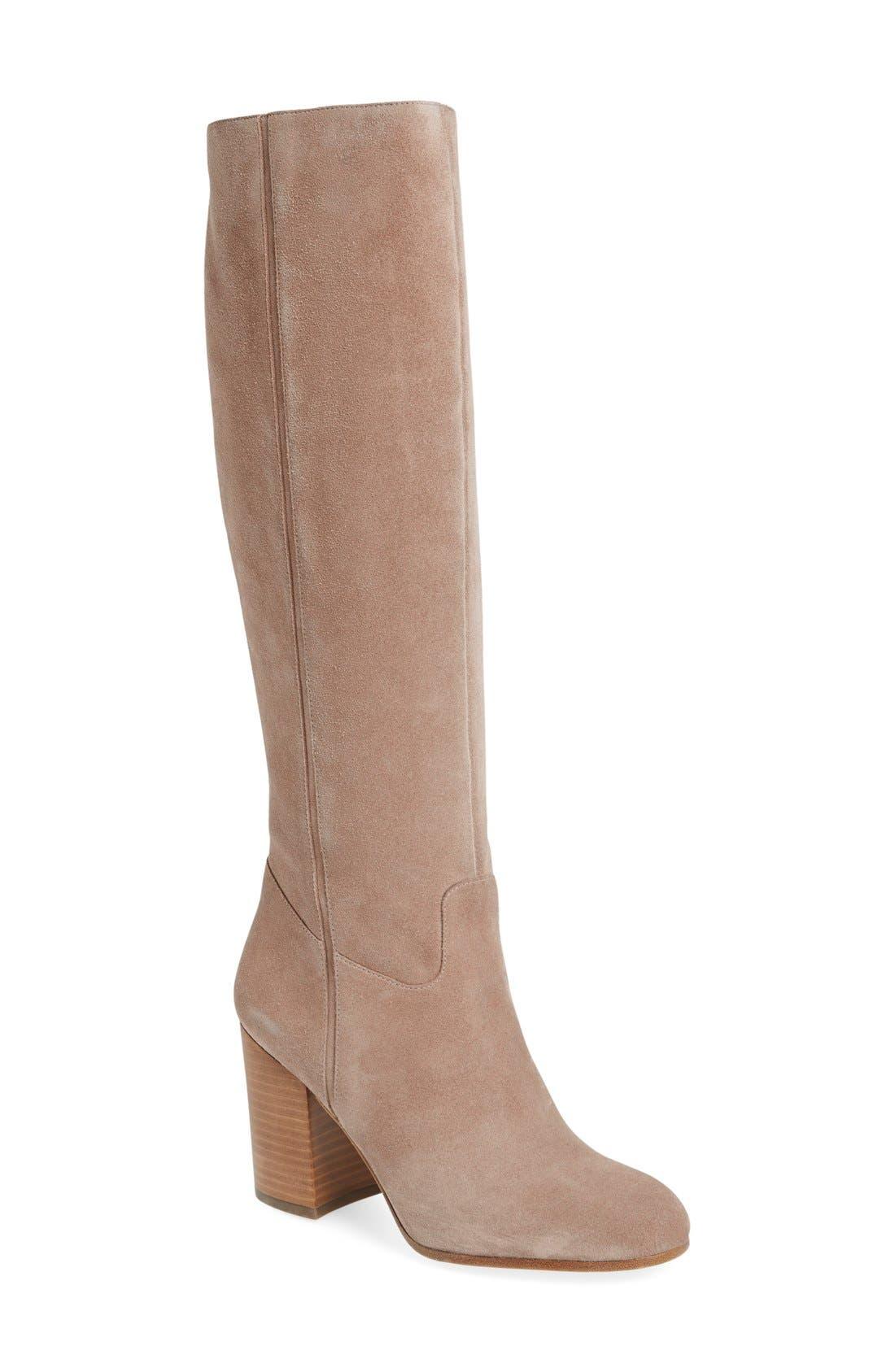 Alternate Image 1 Selected - Via Spiga 'Beckett' Tall Boot (Women)