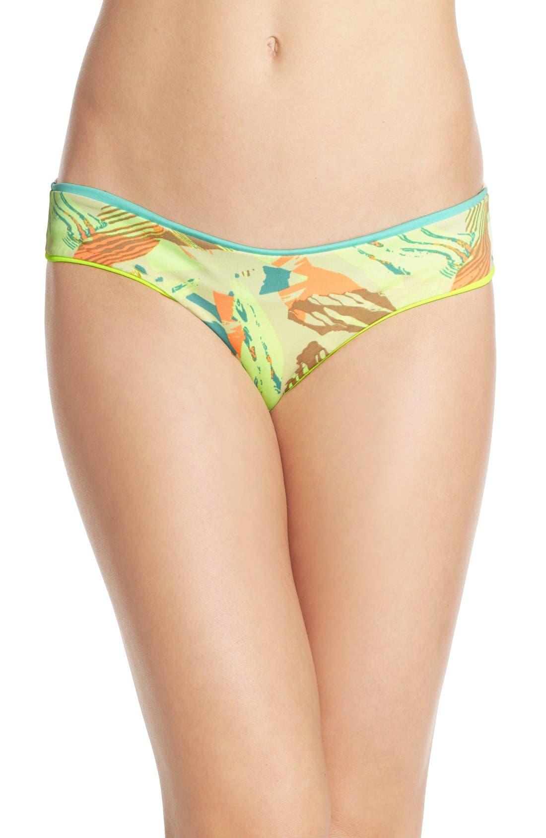 Alternate Image 3  - Maaji 'Lime Cubism' Reversible Bikini Bottoms