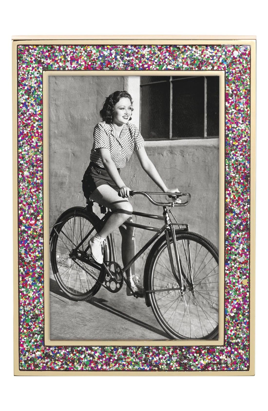 glitter picture frame,                         Main,                         color, Multi