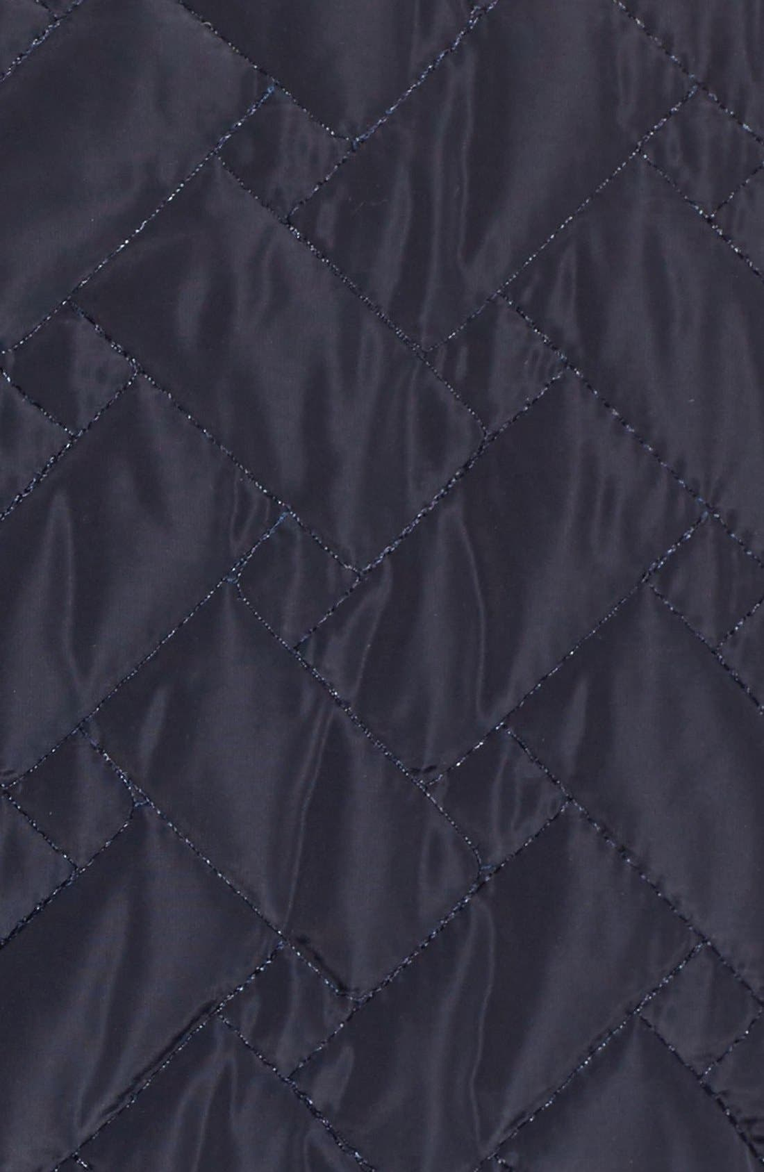 Alternate Image 5  - Cole Haan SignatureBelted Quilted Coat
