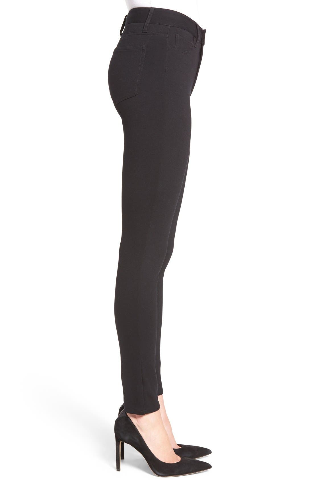 Alternate Image 3  - PAIGE Hoxton Ankle Ponte Pants