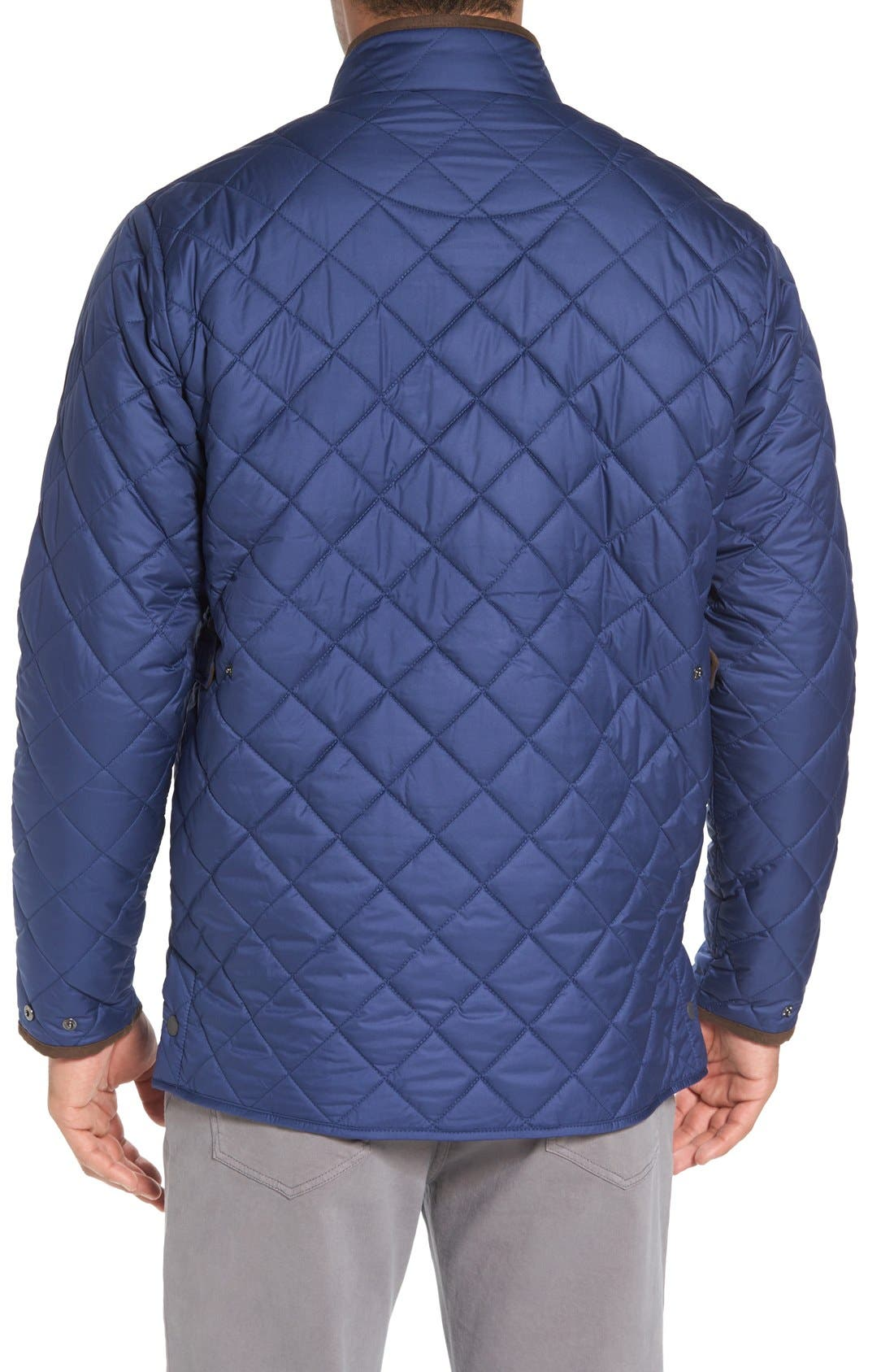 Alternate Image 2  - Peter Millar Norfolk Water Resistant Quilted Jacket