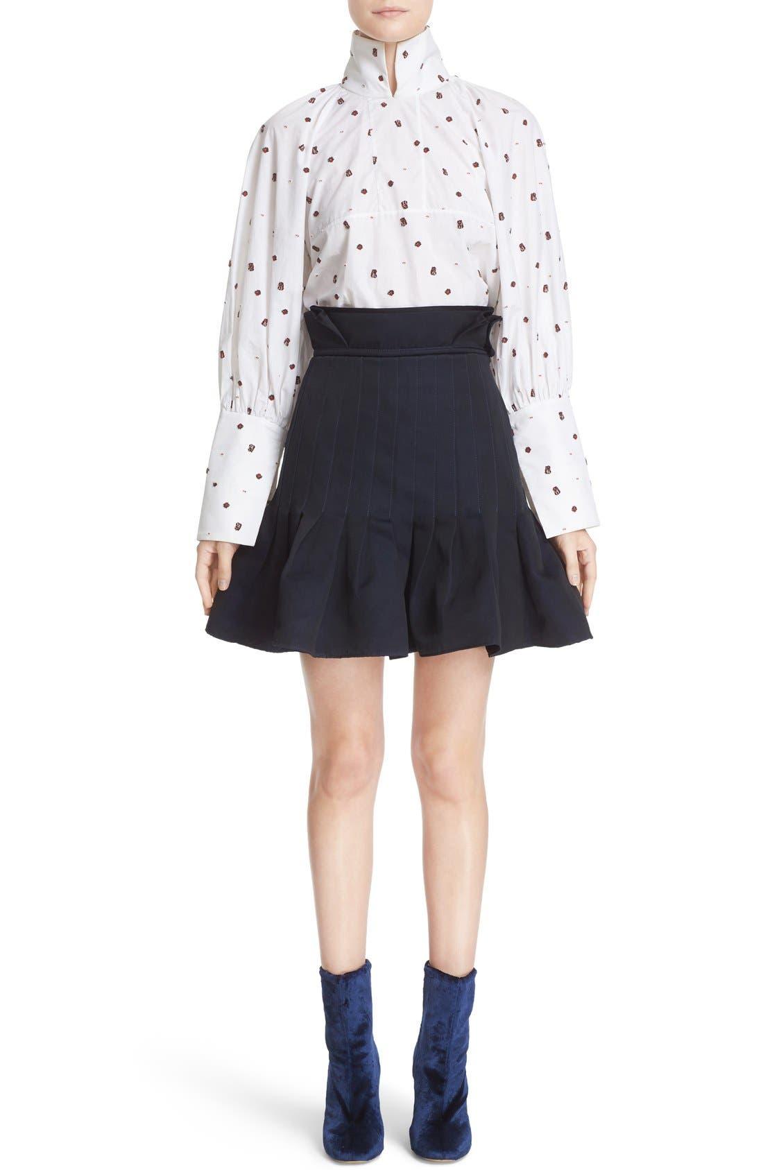 Alternate Image 7  - ELLERY 'Kyoto' Pleated Miniskirt