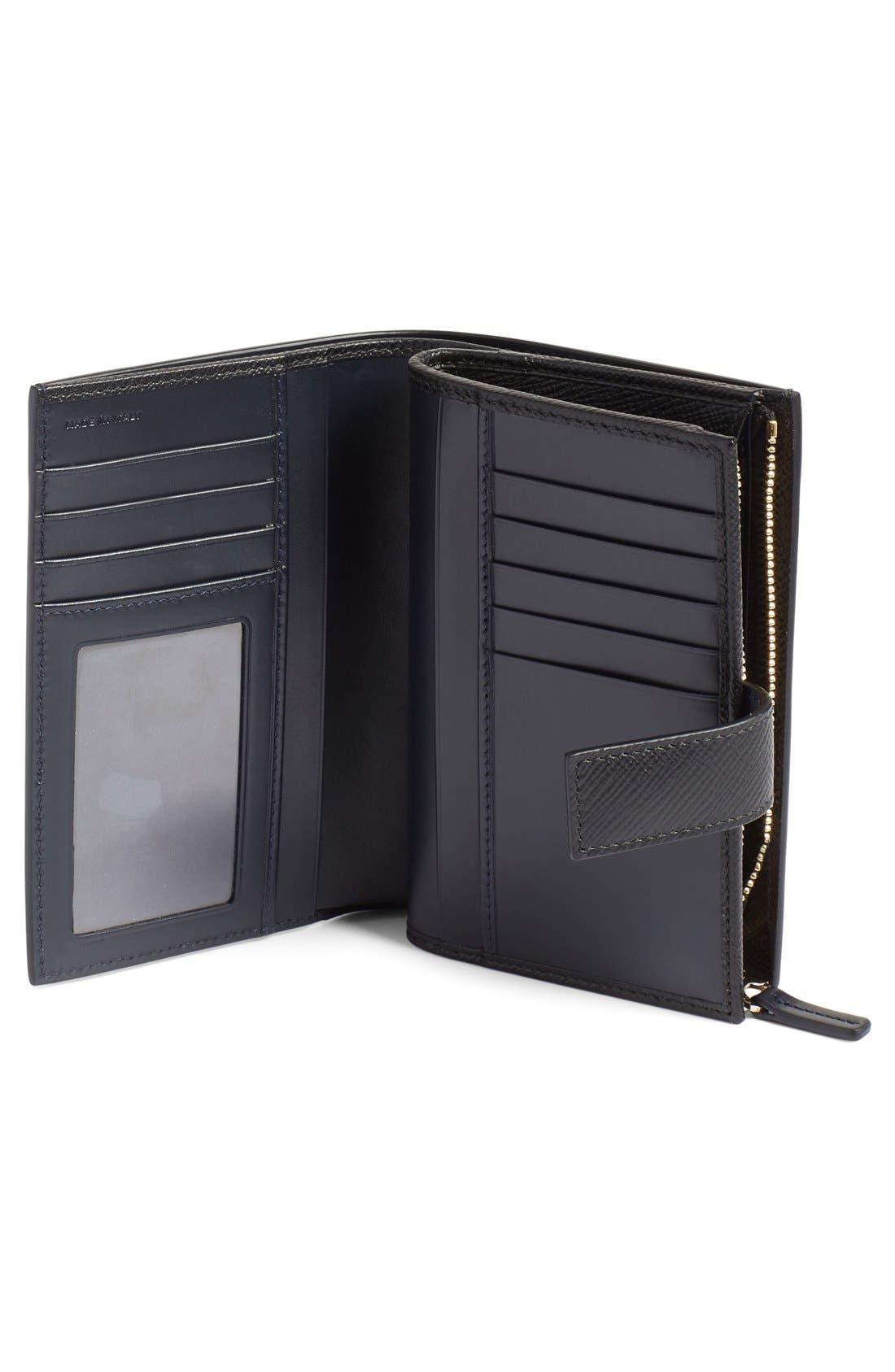 Alternate Image 2  - Smythson 'Medium' Continental Wallet
