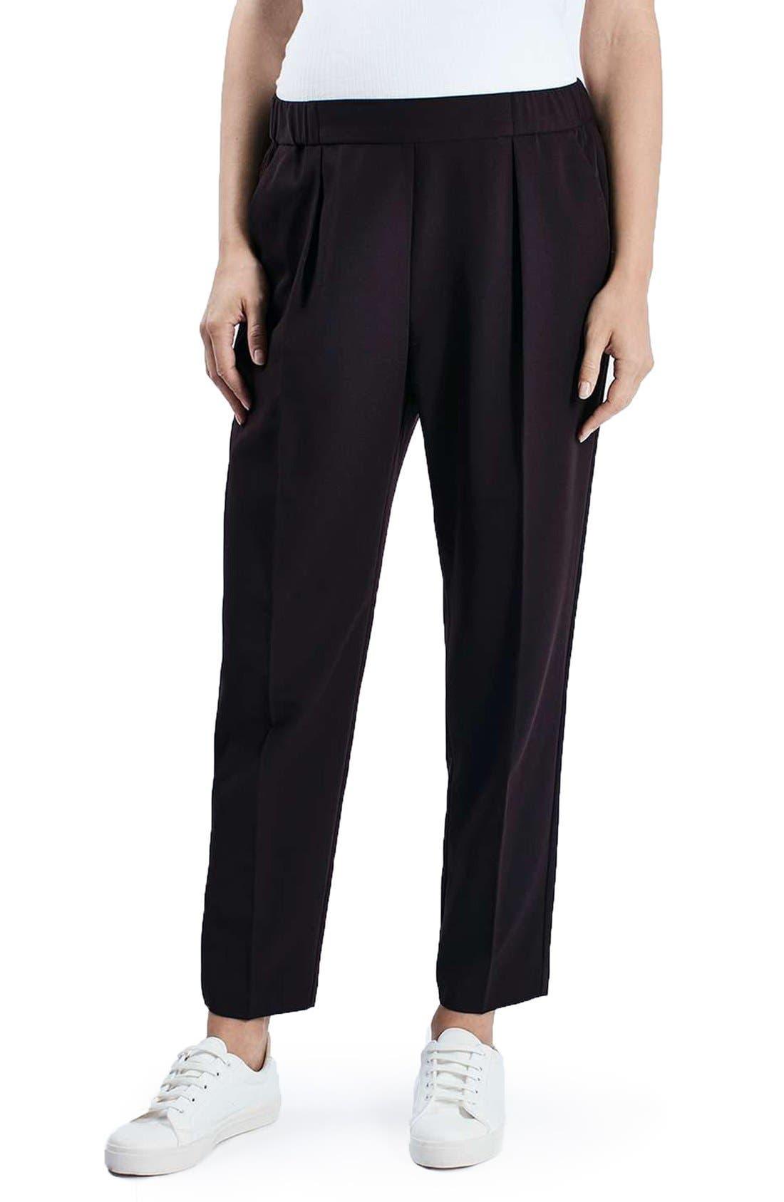 Topshop Peg Maternity Trousers