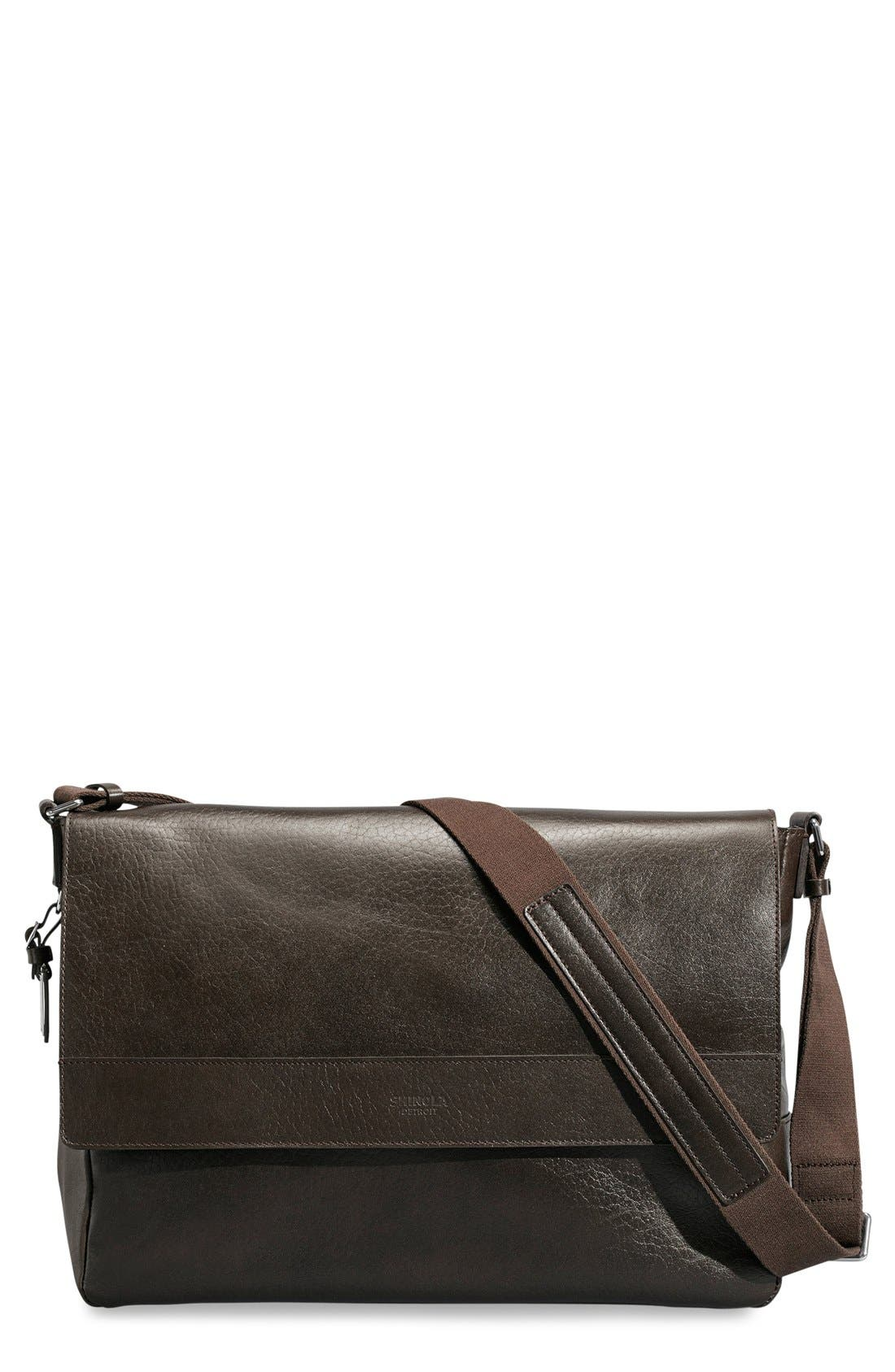 Shinola East/West Messenger Bag