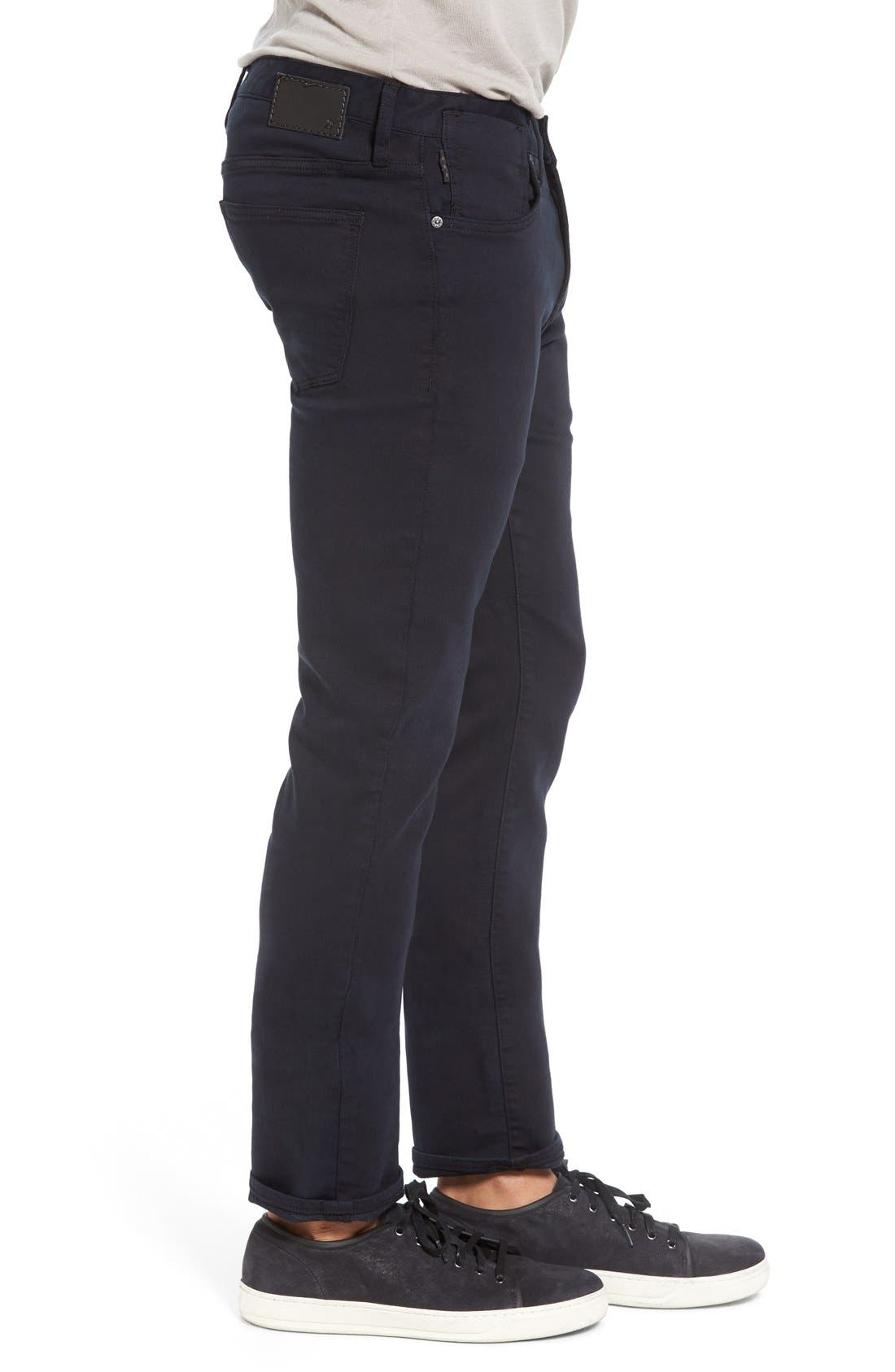 'Bowery' Slim Fit Pants,                             Alternate thumbnail 3, color,                             Eclipse