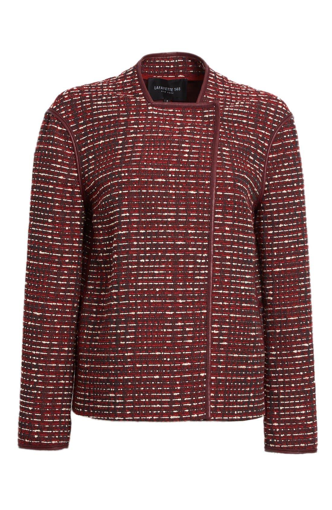 Alternate Image 4  - Lafayette 148 New York 'Dane' Tweed Jacket