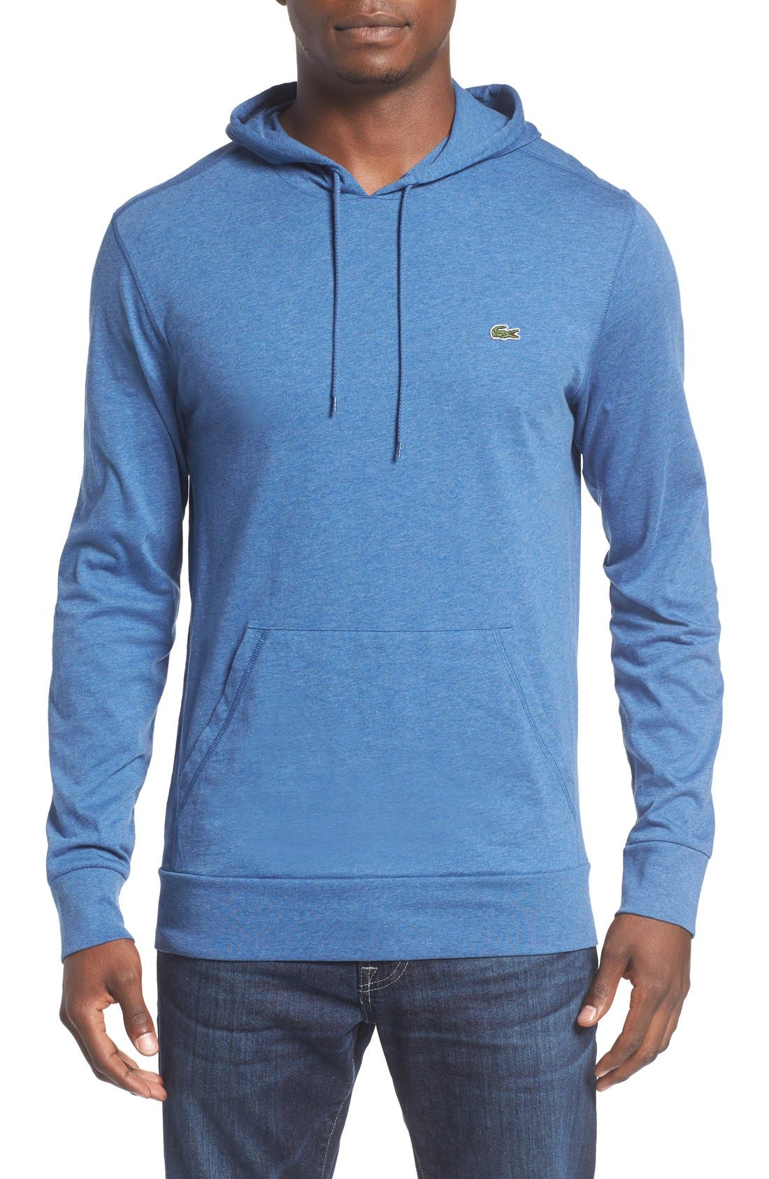 Alternate Image 1 Selected - Lacoste Jersey Hoodie