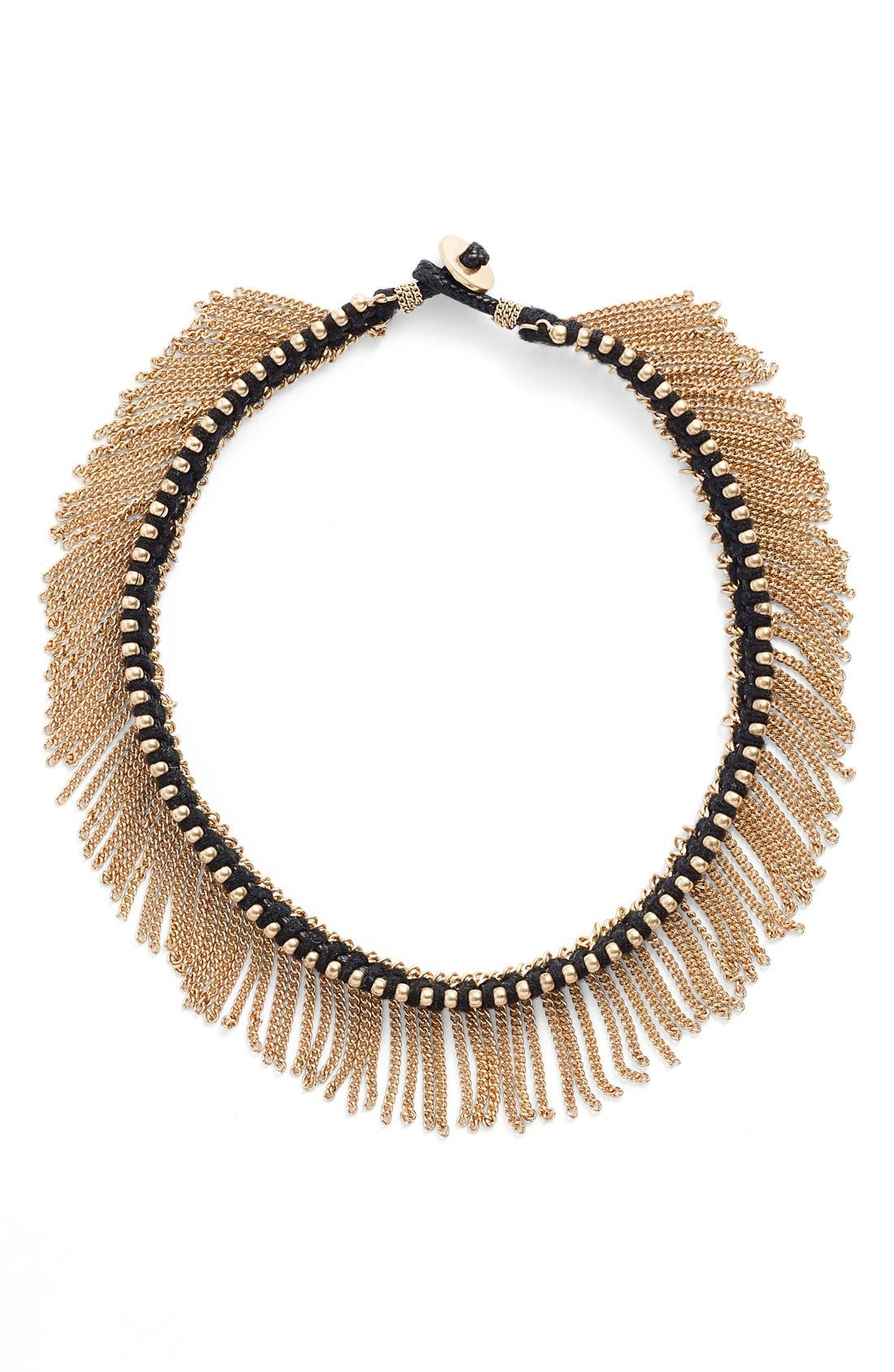 Alternate Image 3  - Treasure & Bond Fringe Choker