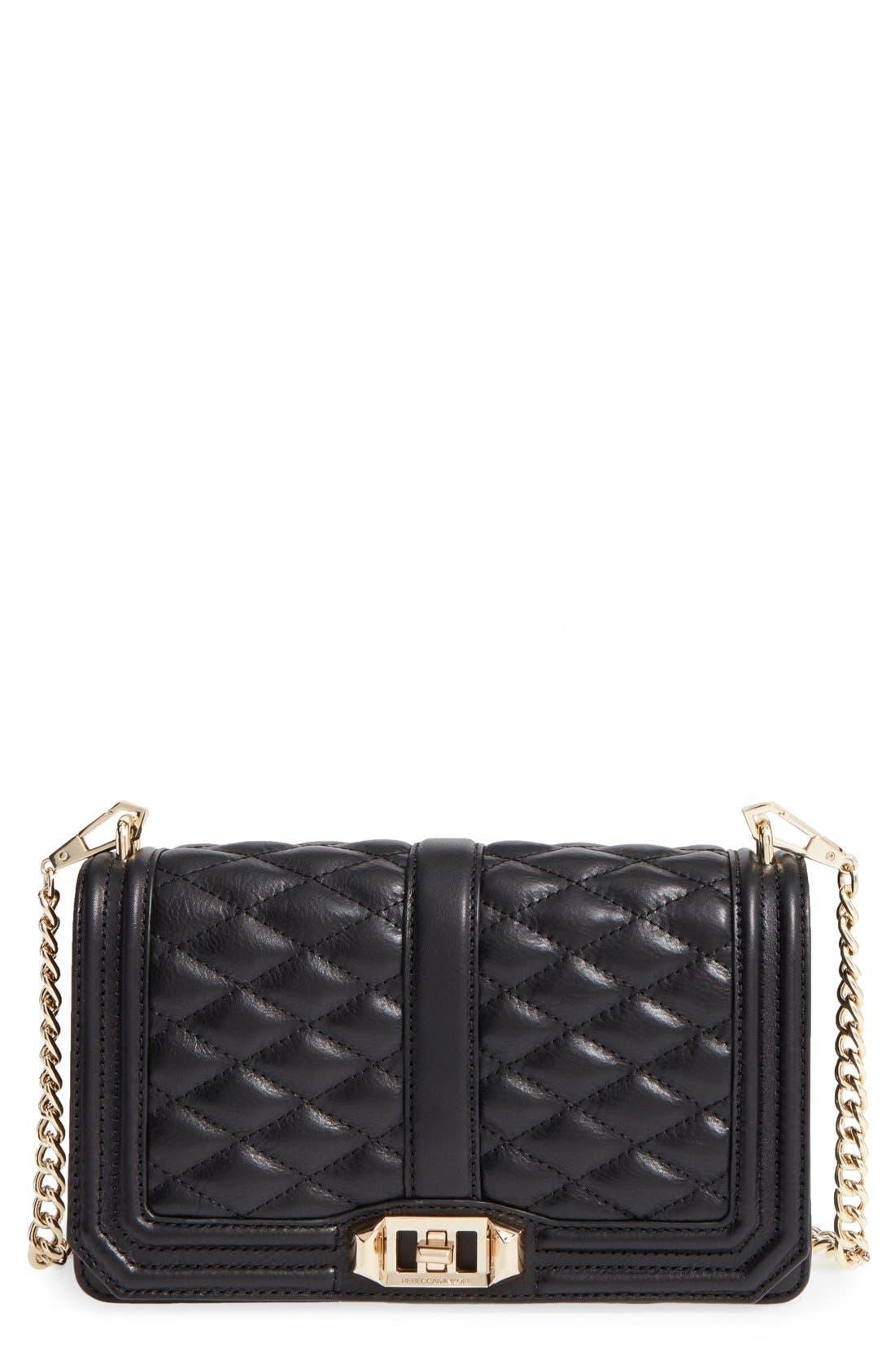 Main Image - Rebecca Minkoff Love Leather Crossbody Bag