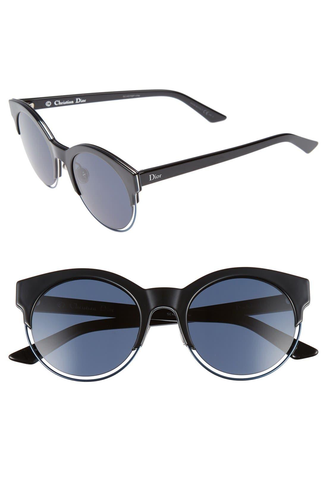 Main Image - Dior Siderall 1 53mm Round Sunglasses