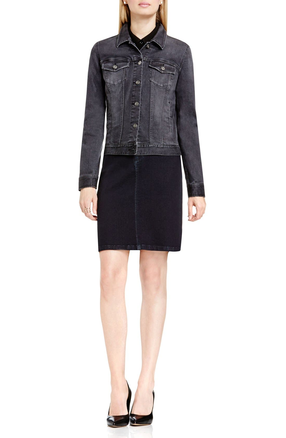 Alternate Image 3  - Two by Vince Camuto Denim Jacket