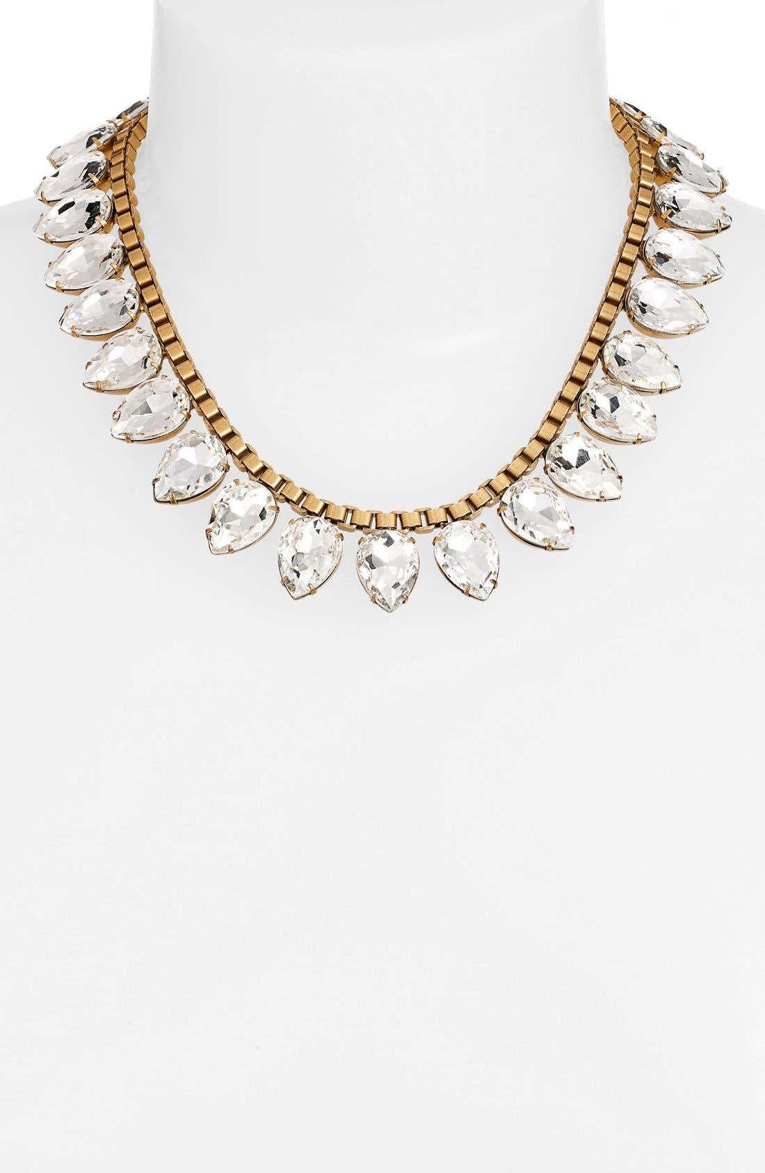 Alternate Image 2  - Loren Hope 'Sylvia' Crystal Collar Necklace