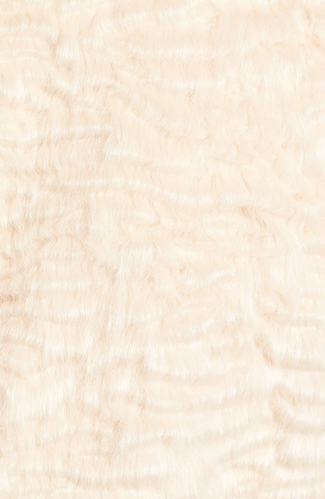 Alternate Image 6  - Eliza J Faux Persian Lamb Coat (Regular & Petite)