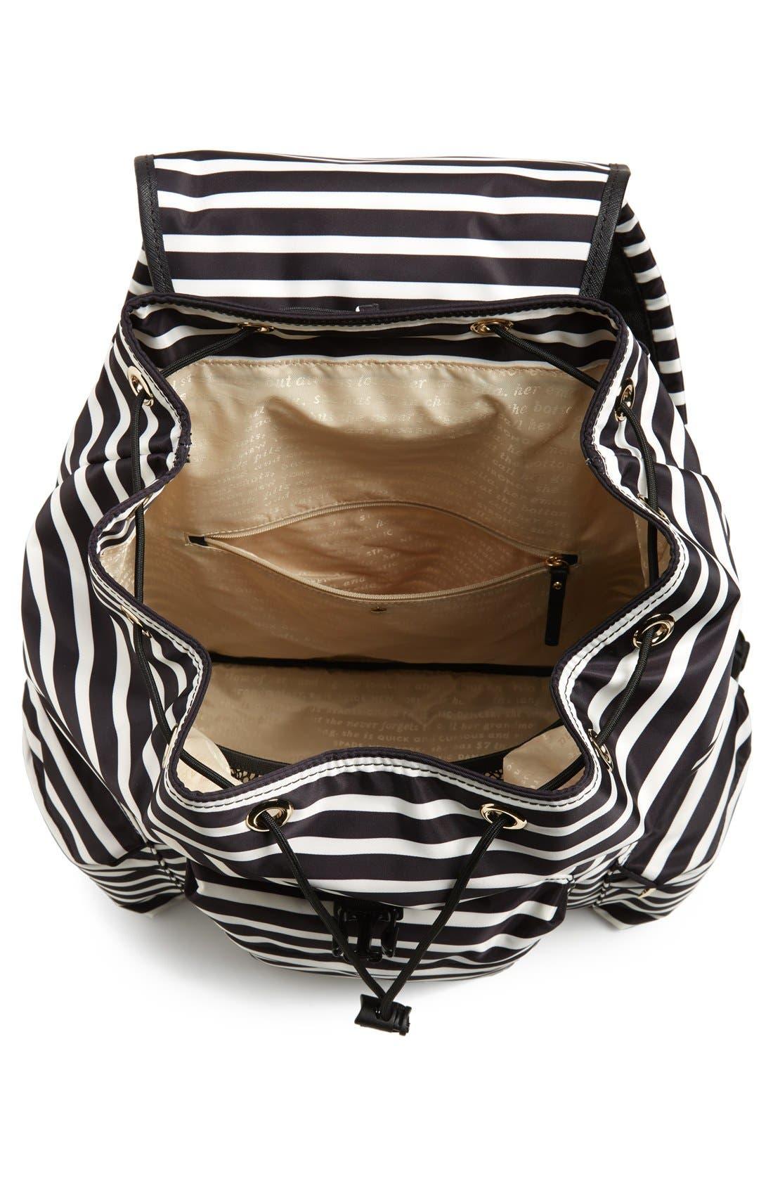 Alternate Image 4  - kate spade new york 'classic - clay' nylon backpack